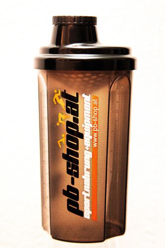 PowerBar / pb-shop.at Mix-Shaker 0,7l grau/transparent