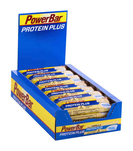 PowerBar Protein Plus Reduced in Carbs 30ér Riegel Box