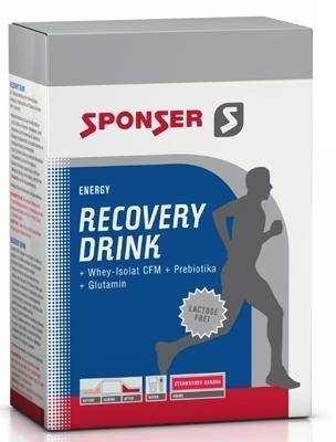 Sponser Recovery Drink Portionsbeutelbox