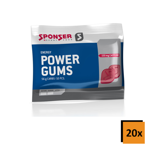 Sponser Red Power Gums 20ér Box