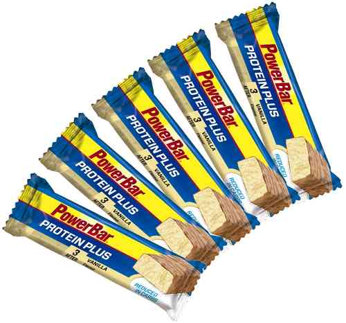 PowerBar Protein Plus Reduced in Carbs Riegel 5ér Pack
