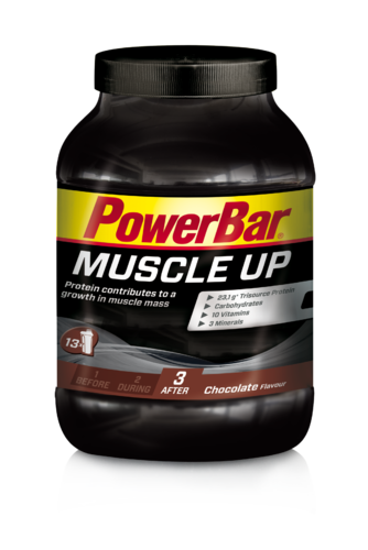 Powerbar Muscle Up Weight Gainer Dose Schoko