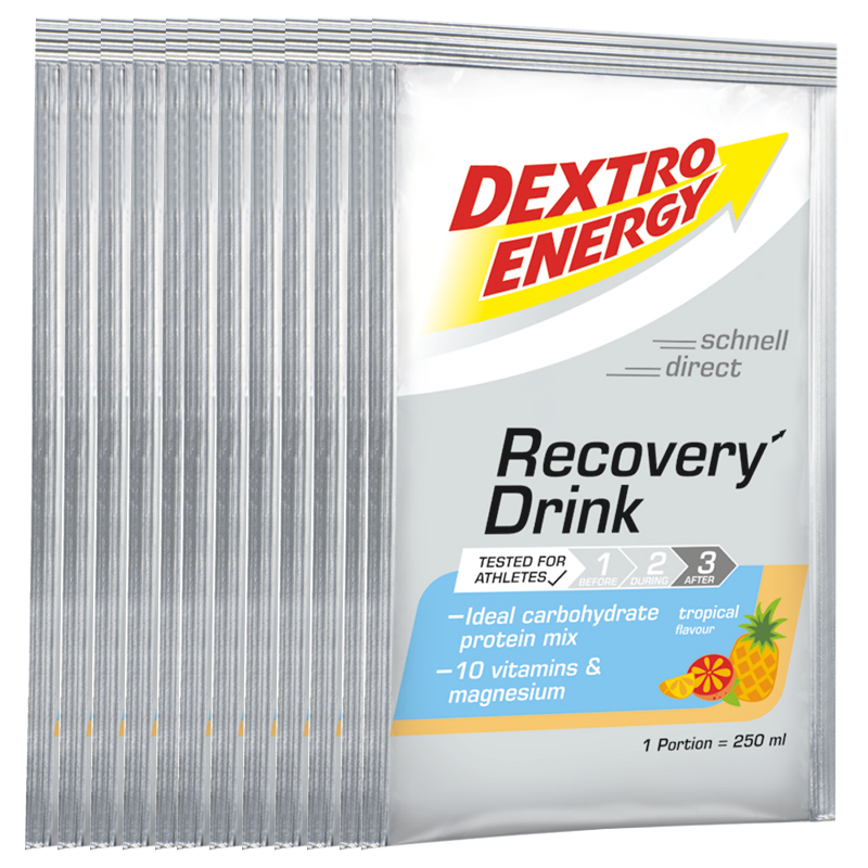 Dextro Energy Recovery Drink Box Tropical Portionsbeutel 14er Box