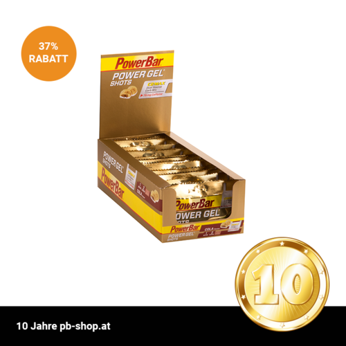 PowerBar Power Gel Shots 16ér Box