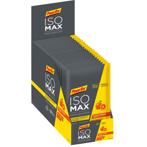 PowerBar Isomax Sports Drink 20ér Portionsbeutelbox