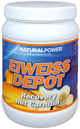 Natural Power Eiweiss Depot Recovery 400g Dose