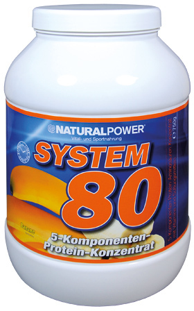 Natural Power System 80 - 750g Dose