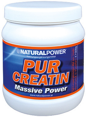 Natural Power Pur Creatin Dose