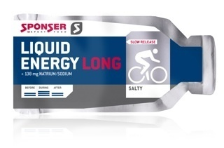 Sponser Liquid Energy Long Salty Gel
