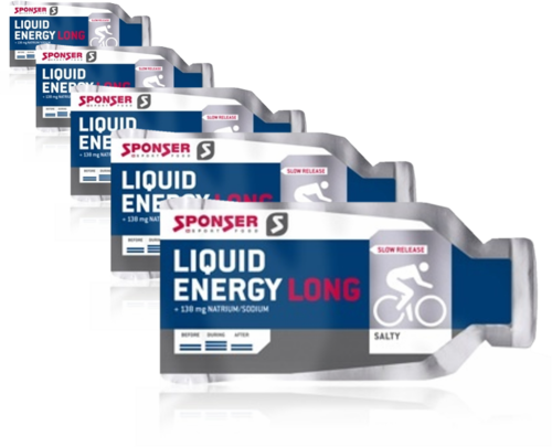 Sponser Liquid Energy Long Salty Gel 5ér Pack