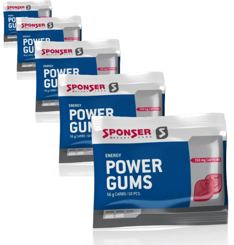 Sponser Red Power Gums Beutel 5ér Pack