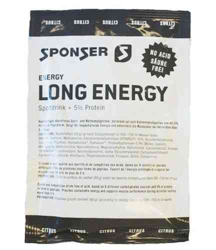 Sponser Long Energy Portionsbeutel