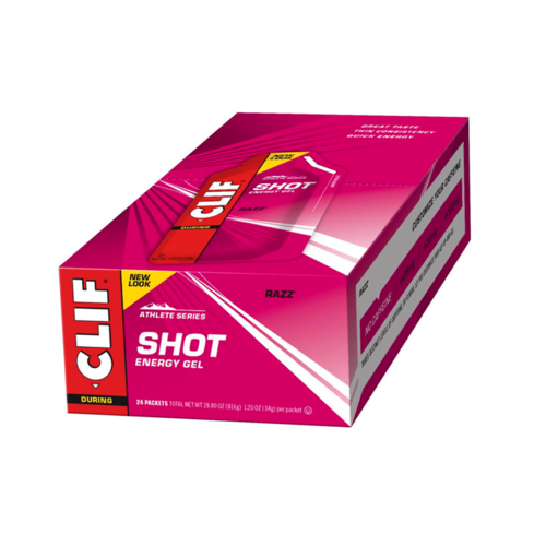 Clif Shot Energy Gel Box