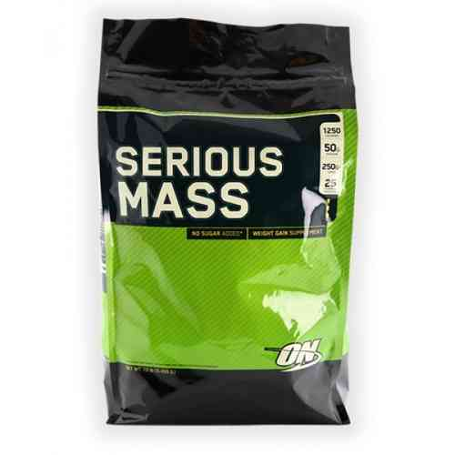 Optimum Nutrition Serious Mass 5440g Beutel