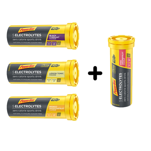 PowerBar 5Electrolytes Sports Drink 10er Brausetabletten 3+1 Aktion
