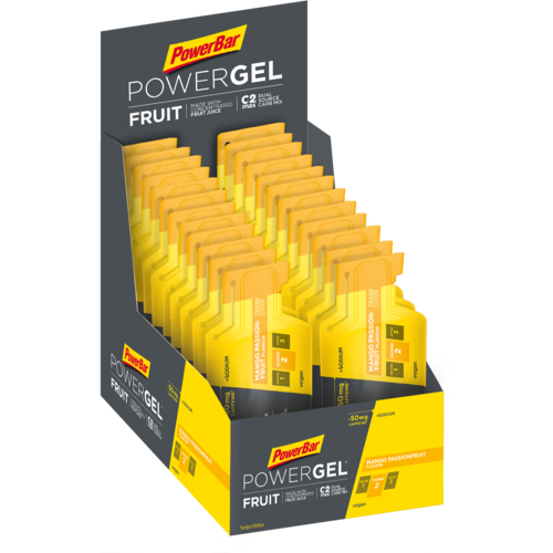 PowerBar Fruit Gel 24ér Box