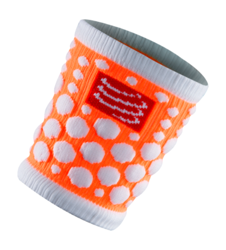Compressport 3D.DOT Sweatband Orange