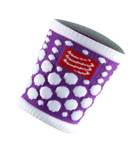 Compressport 3D.DOT Sweatband Purple