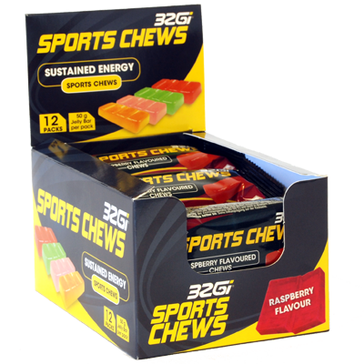 32Gi Sports Chews 12ér Box