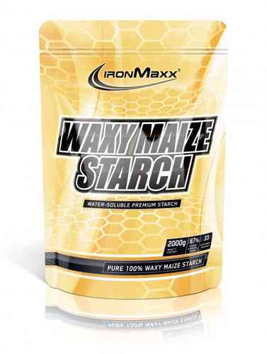 IronMaxx Waxy Maize Starch 2000g Beutel