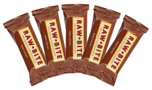 Raw Bite BIO Riegel Cacao 5ér Pack