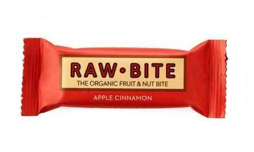 Raw Bite BIO Riegel Apfel Zimt
