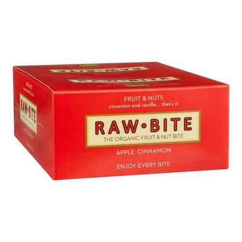 Raw Bite BIO Riegel Apfel Zimt 12ér Box