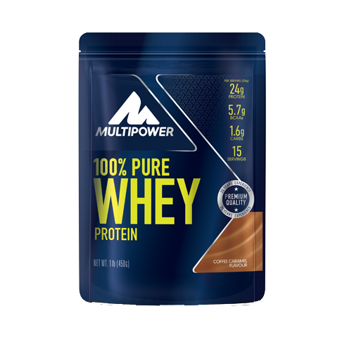 Multipower 100% Pure Whey Protein 450g Beutel