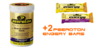Peeroton Mineral Vitamin Drink 300g Dose + 2 Energy Bar Riegel Aktion