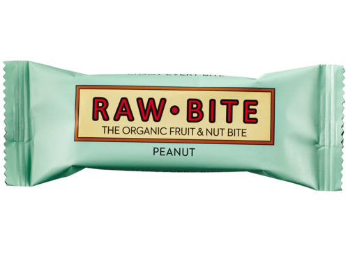 Raw Bite BIO Riegel Erdnuss