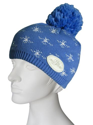 ÖSV - Austria Ski Team Mütze Beanie Snow Crystal - Country Blue