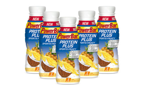 PowerBar Protein Plus Sports Fruicy 5er Pack