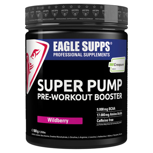 Eagle Supps Super Pump Pre-Workout Booster 800g Dose