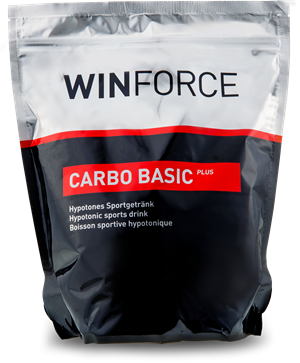 Winforce Carbo Basic plus Zitrone 900g Beutel
