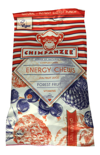 Chimpanzee Energy Chews Beutel