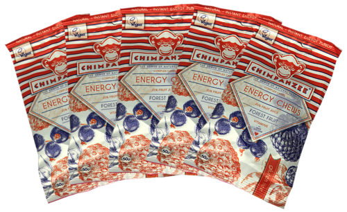Chimpanzee Energy Chews 5er Pack