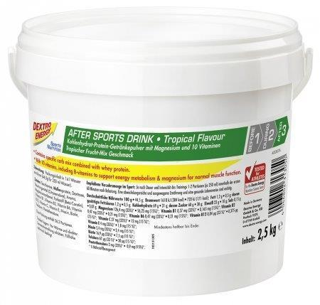 Dextro Energy After Sports Drink Tropical 2500g