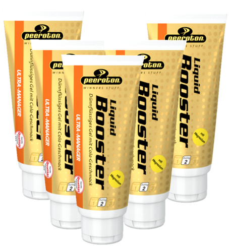 Peeroton Liquid Booster 5er Pack