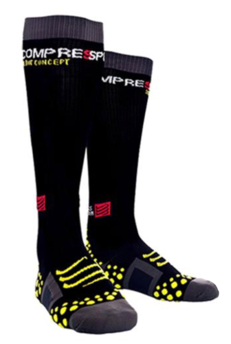 Compressport Full Socks black