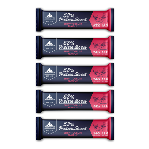 Multipower 53% Protein Boost Bar 5er Pack
