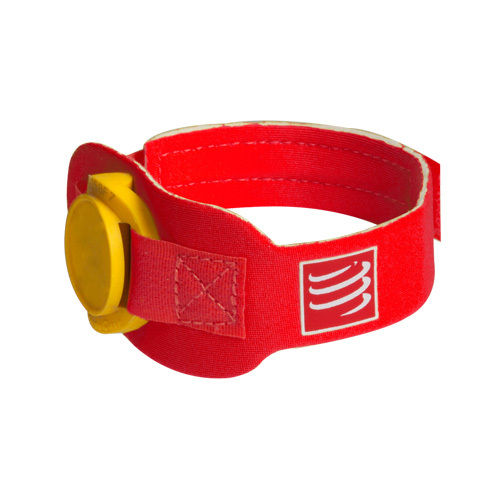 Compressport Timing Chipband rot
