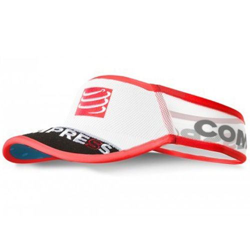 Compressport Visor V2 Ultralight weiss/schwarz/blau