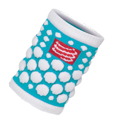 Compressport 3D.DOT Sweatband Bright Blue