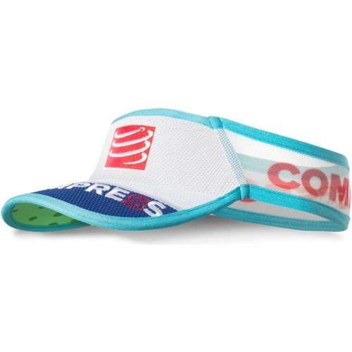 Compressport Visor V2 Ultralight weiss/blau/grün