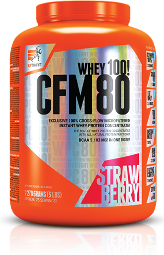 Extrifit CFM Instant Whey 80 - 1000g Dose
