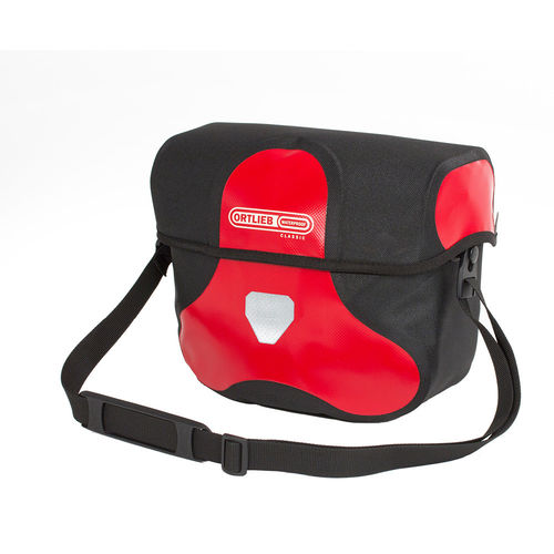 Ortlieb Ultimate6 Classic Lenkertasche rot-schwarz M