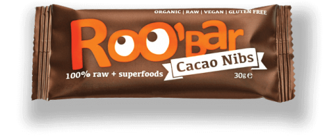 Roobar Cacao Nibs Almond Riegel