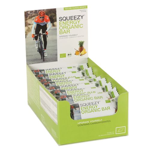 Squeezy Energy Organic Riegel 25er Box