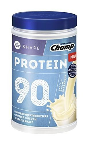 Champ Protein 90 Shake Shape Vanille 390g Dose