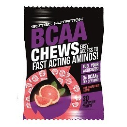 Scitec Nutrition BCAA Chews 30íger Packung - MHD 11-2017